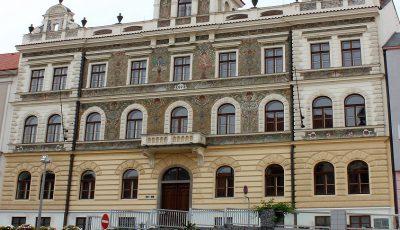 Radnice Strakonice - čelní pohled